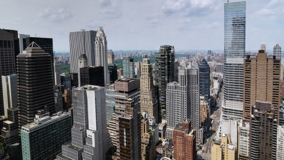 Midtown Manhattan and Central Park, New York City