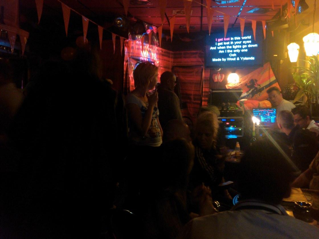 Cors karaoke @ Café Aan Zet