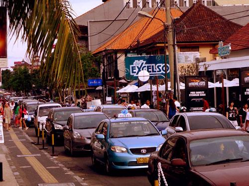 Verkeer in Bali
