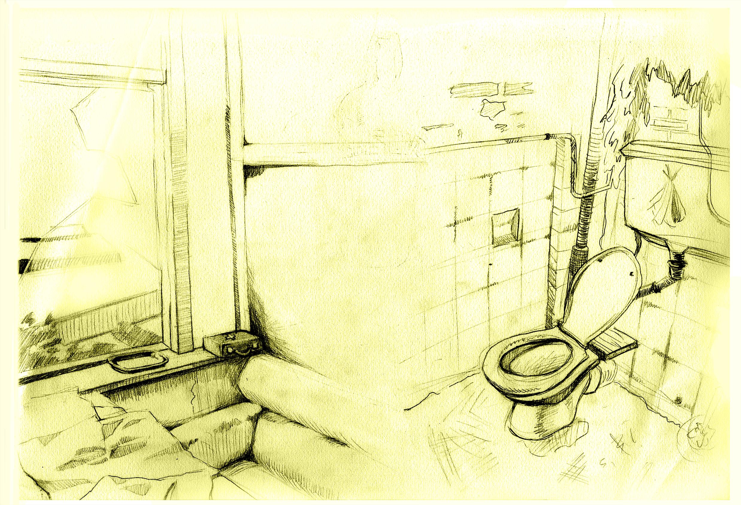 Spacecamp bijkamer en toilet 2