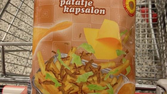 Kapsalon chips