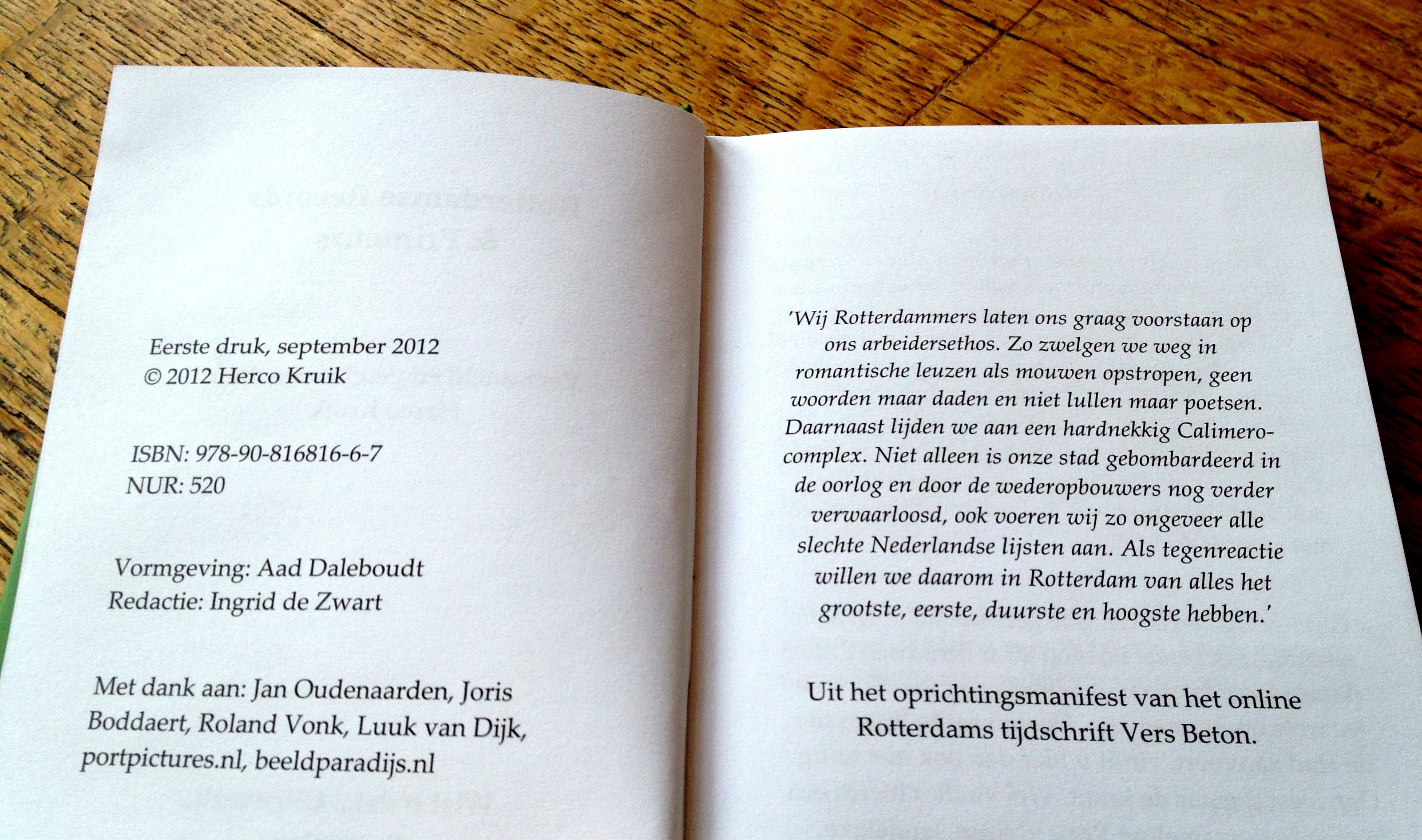 "Uit ""Rotterdamse Records & Primeurs"""