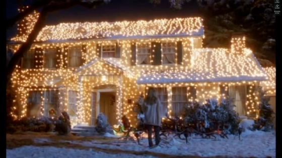Schermafdruk van Mathijs Vlots Kerstclipje