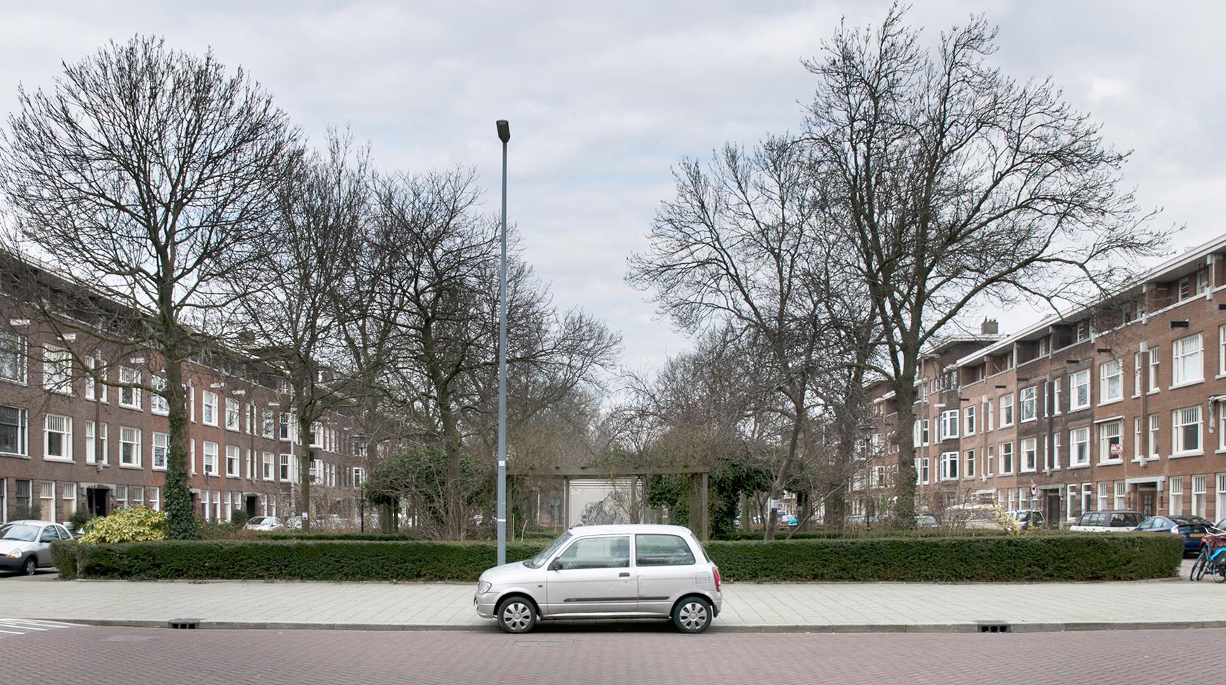 De Savornin Lohmanlaan, officiële straatnaam van de gemeente Rotterdam bij beslissing van B&W sinds 19 april 1932