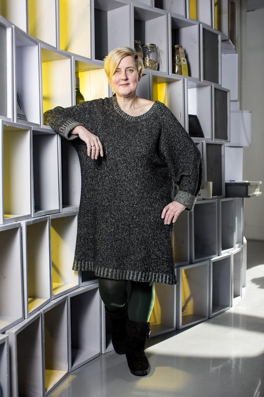 Jeanne van Heeswijk in het Wijkwaardenhuis