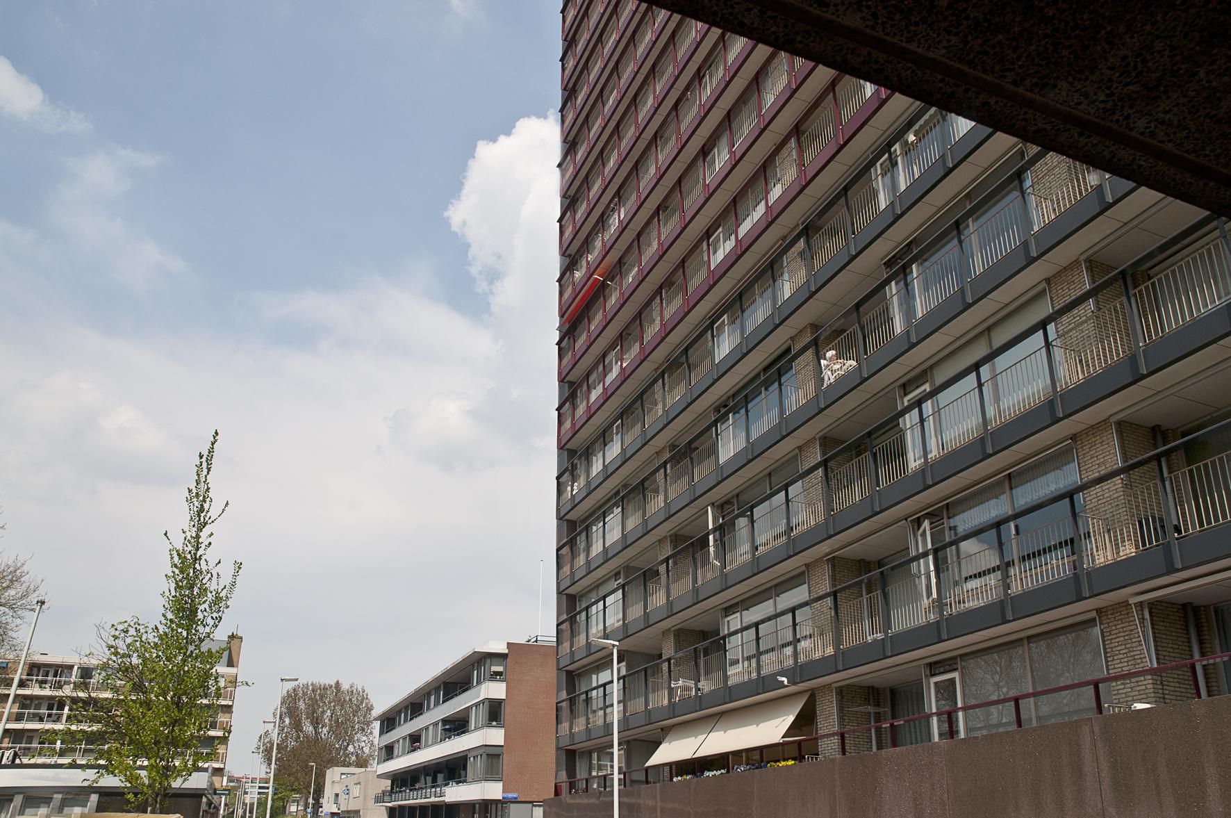 Hantje de Jongstraat, officiële straatnaam van de gemeente Rotterdam bij beslissing van B&W sinds 5 februari 1965