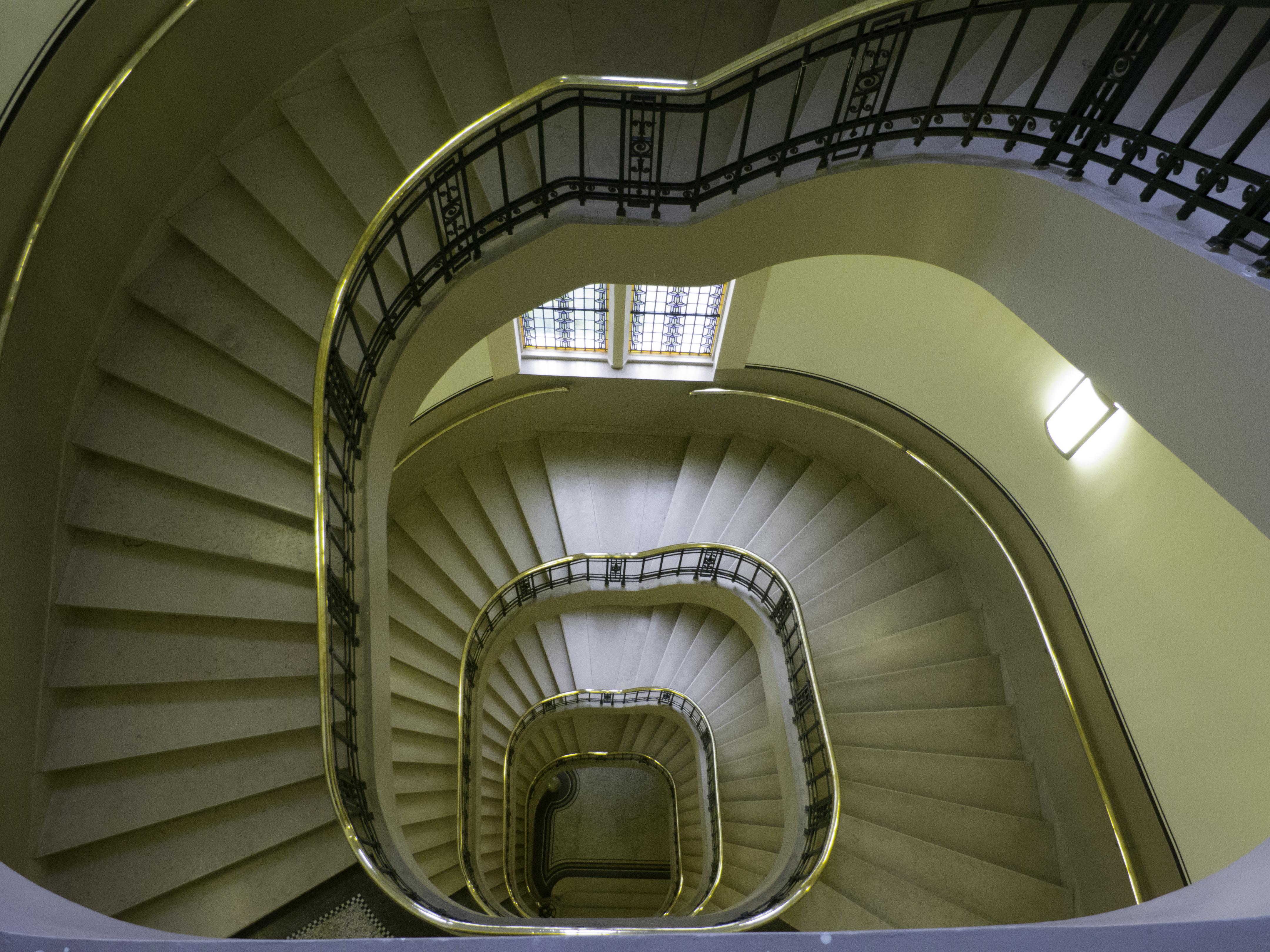 trappenhuis in het stadhuis
