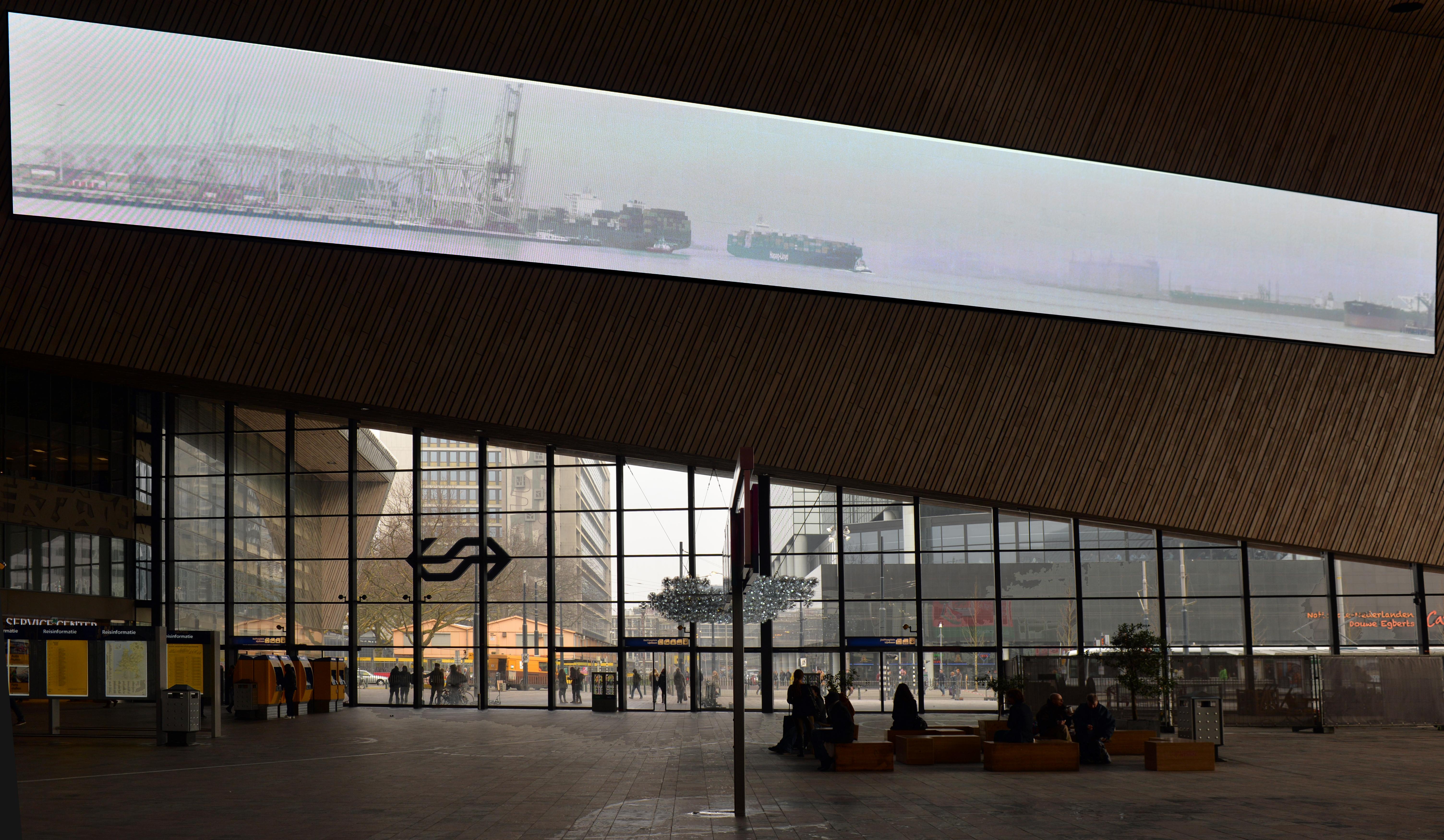 Scherm Centraal Station