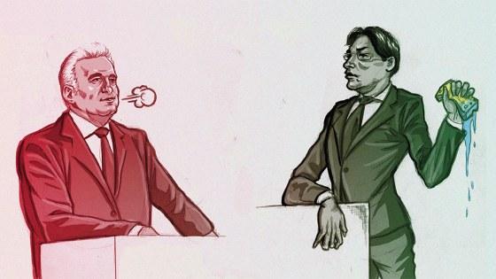 Arminius Debat illustratie Iren