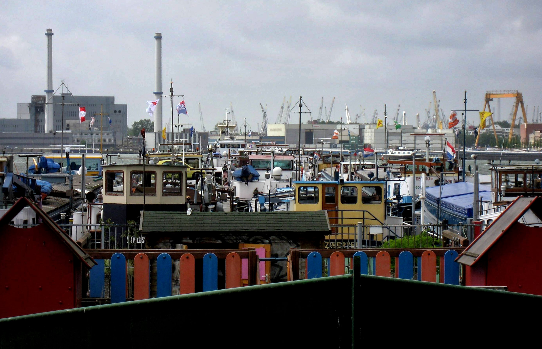 Roni Margulies maakte ook veel foto's tijdens zijn verblijf in Rotterdam