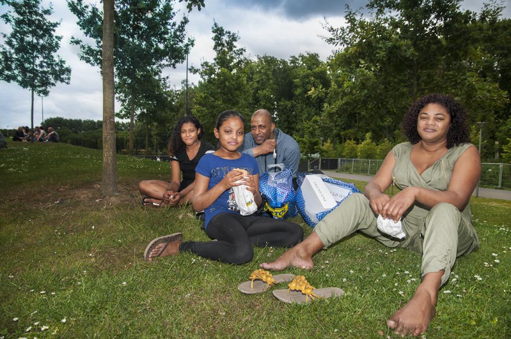 Rouche, Lyche, Jimmy en Agnes