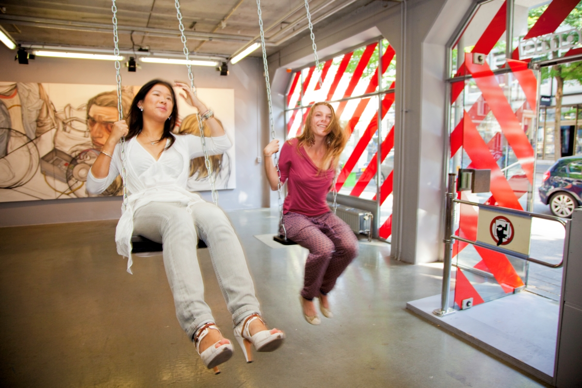showroom MAMA in de Witte de Withstraat