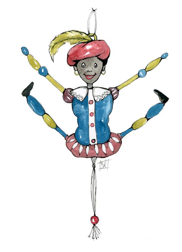 Zwarte Piet als trekpop