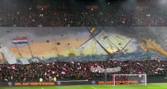 Sfeeractie Feyenoord - Sevilla