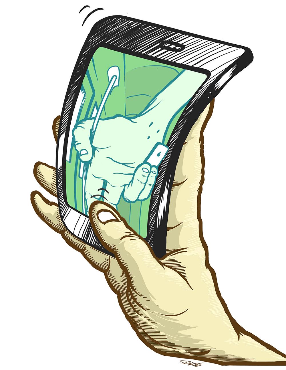 Tracking, Smartphone