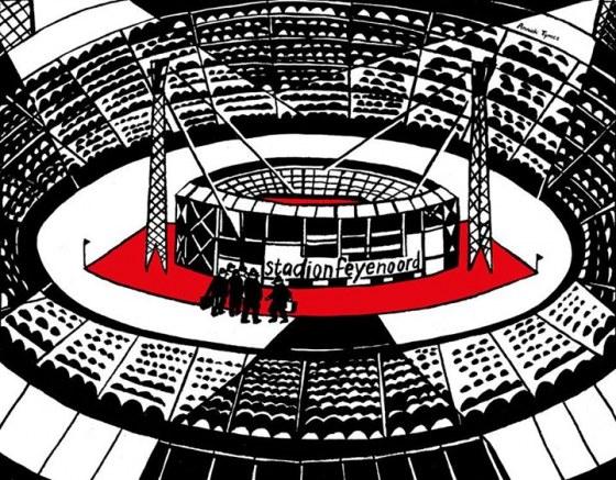 Stadion Feyenoord - Anniek Tijmes
