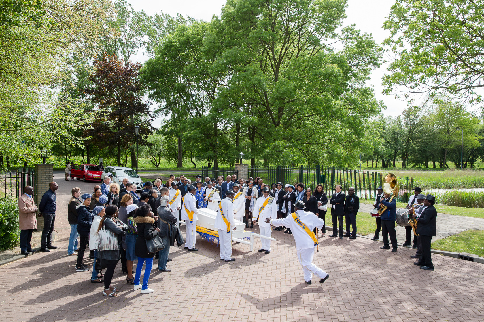 Grenzeloze Rotterdammers : Een nieuw thuis