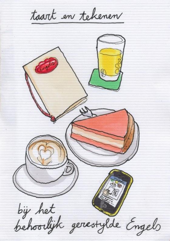 taart bij Engels