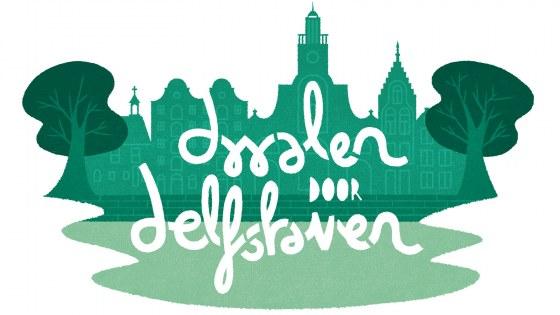 Dwalen Door Delfshaven - beeldmerk
