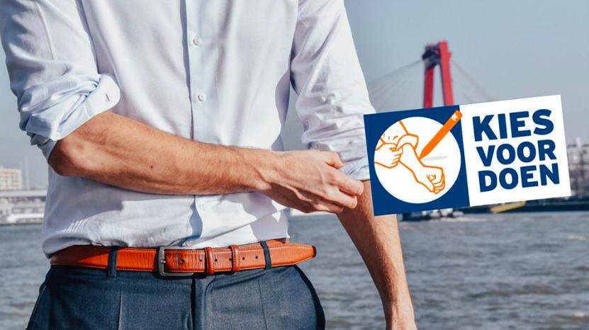 still uit de campagnevideo van VVD Rotterdam