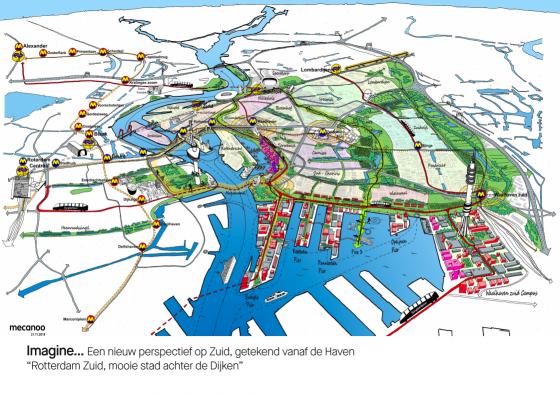 Mecanoo_Kaart_Rotterdam_Zuid