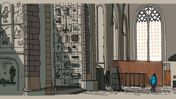 Vers Beton – IkRotterdam – laurenskerk_interieur