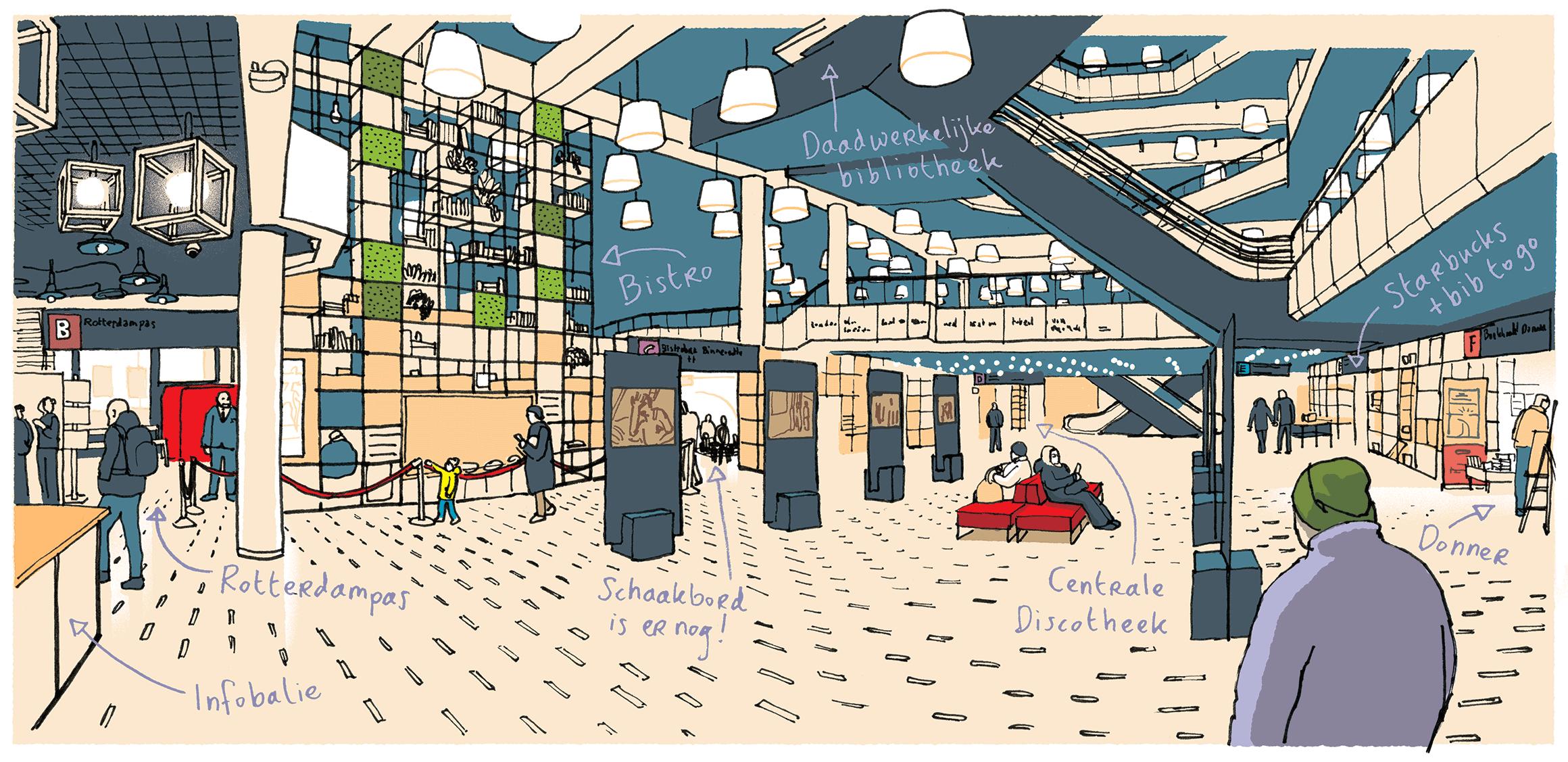 Vers Beton – Ikrotterdam – Centrale Bibliotheek