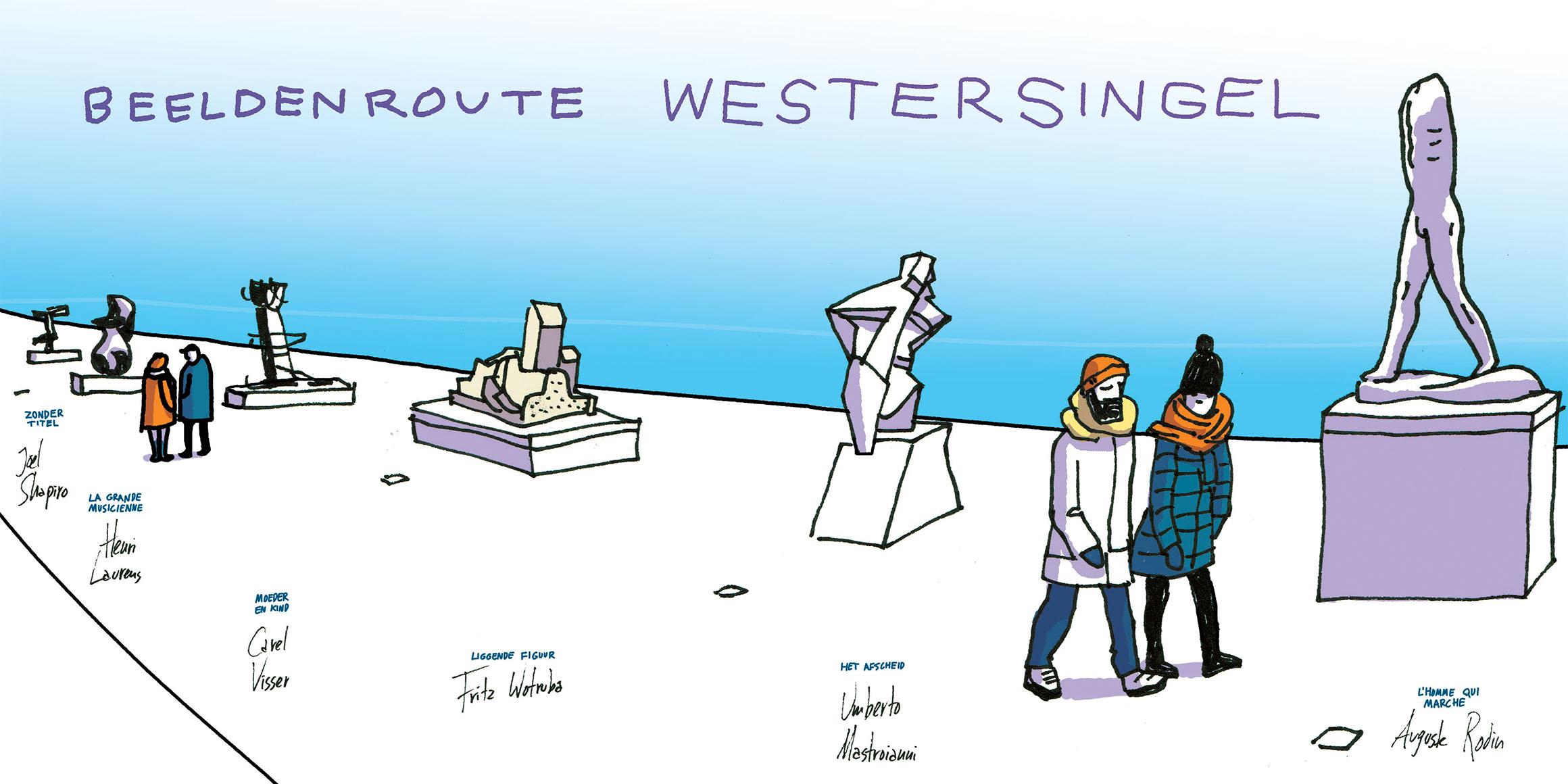 Vers Beton – IkRotterdam – Beeldenroute Westersingel