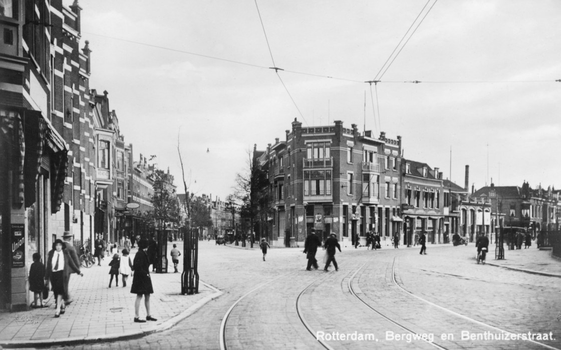 Bergweg-Benthuizerstraat 1932