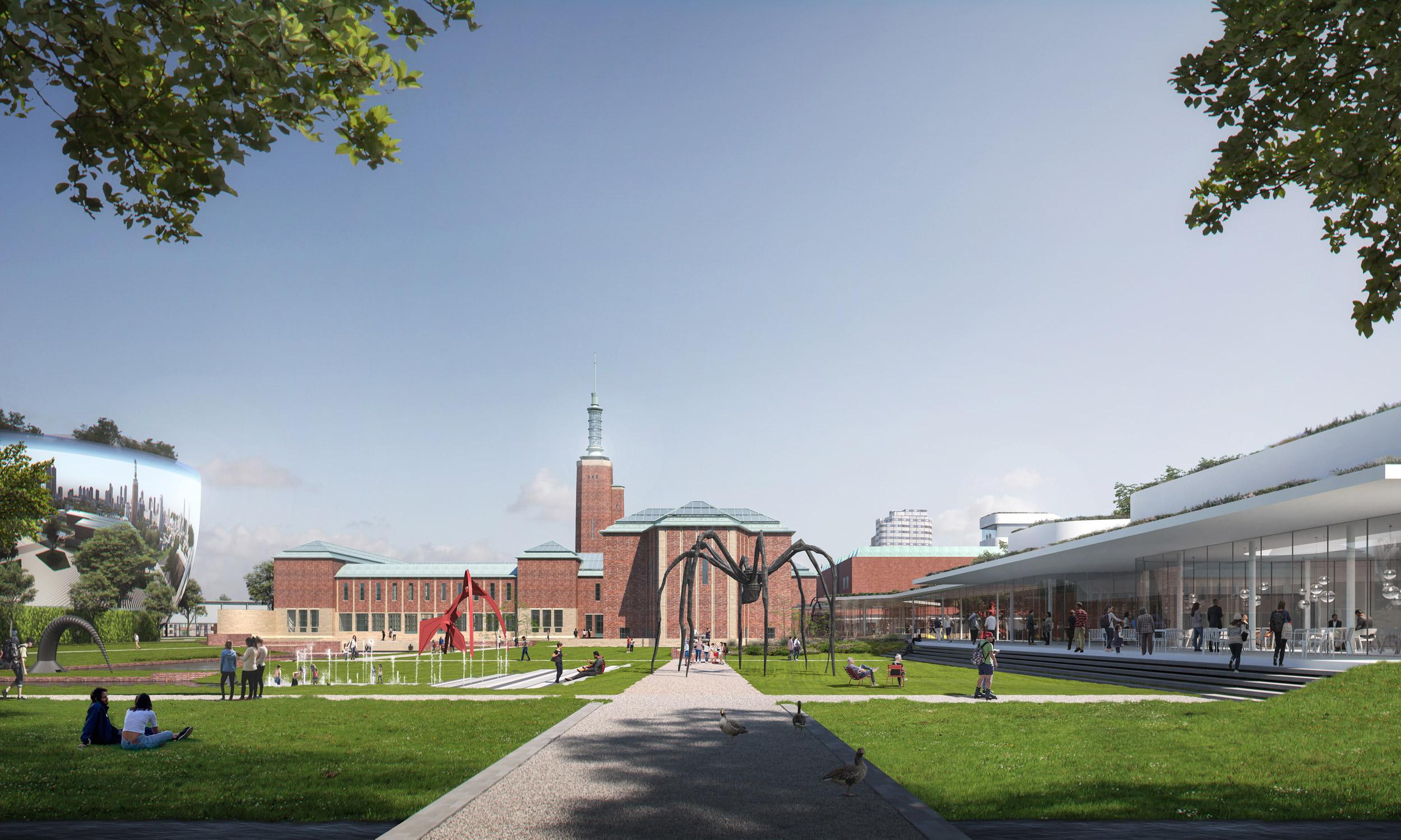 2-Museum-Boijmans-Van-Beuningen—Museumpark-day-view