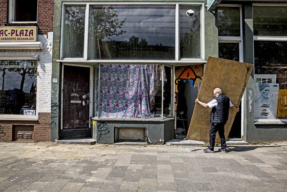 Tweebosbuurt brand panden op Putselaan Rotterdam 2020 05 16 foto Joke Schot (4)