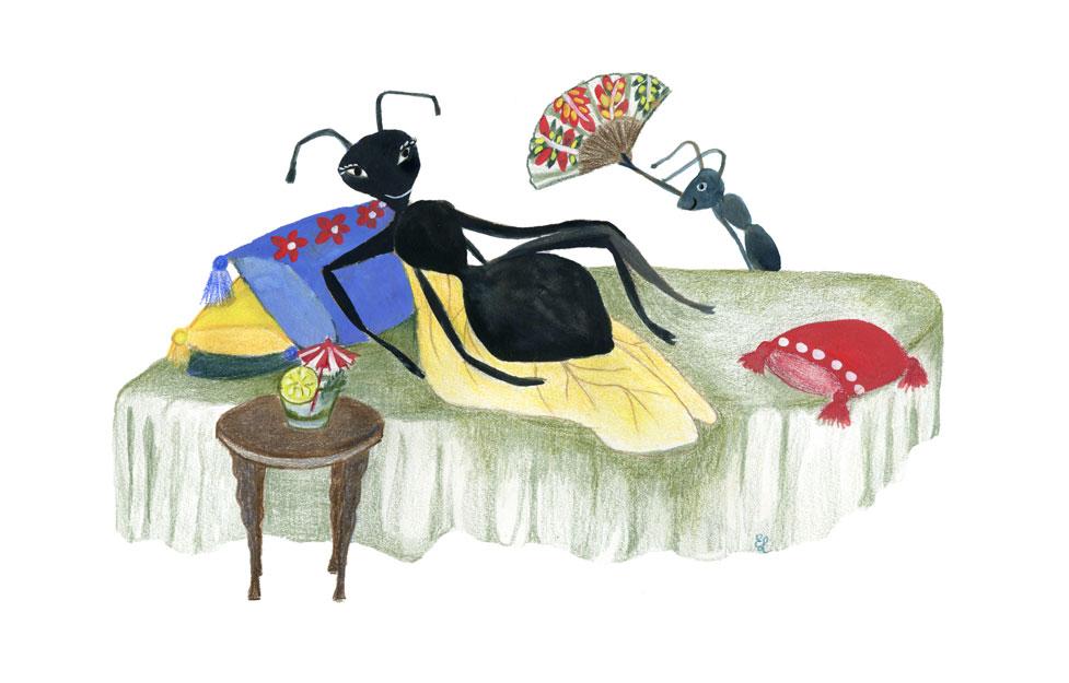 Vers Beton – Esther Lankhaar – Bruidsvlucht van de zwarte mier – 2021